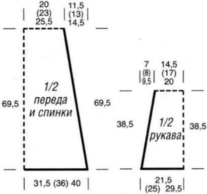 схема мужской шапки английской резинкой, вязание тесьмы.